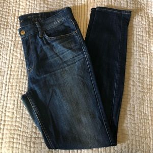 7 For All Mankind High Rise Skinny